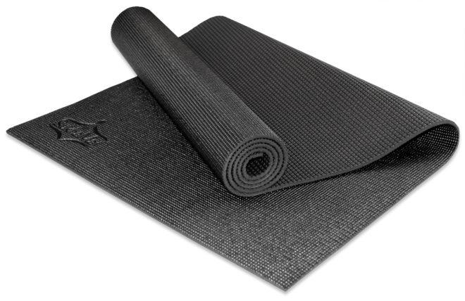 Full-Size Yoga Mat - Black