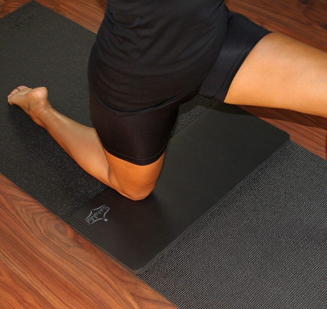 Yoga Mat and Knee Pad Combo