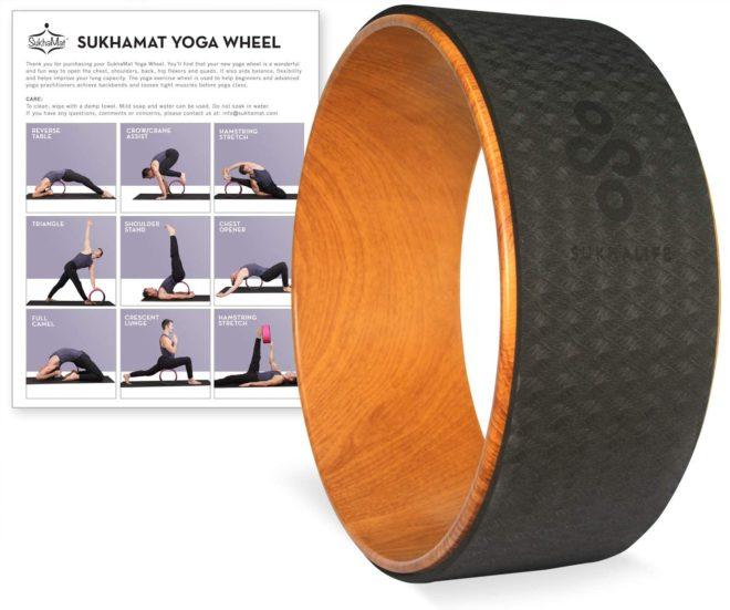 Yoga Wheel by SukhaMat - SukhaLife