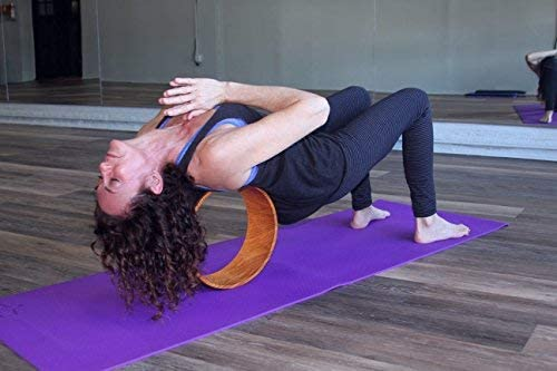 Yoga Wheel back massage for back pain relief